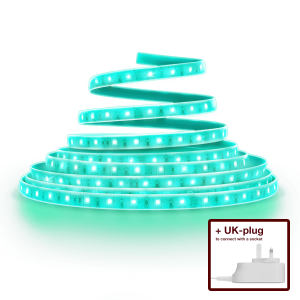 Flex Light Strip Colour UK plug