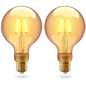 RF 261-2 Globe filament vintage E27 bulb 2-pack