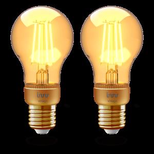 RF 263 E27 filament bulb vintage 2-pack
