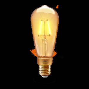 RF 264 Edison filament vintage E27 bulb