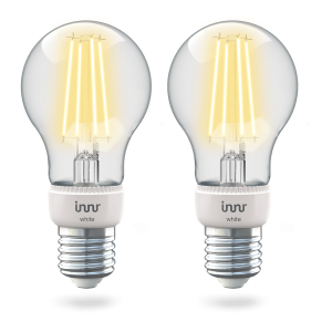 RF 265 E27 filament bulb white 2-pack