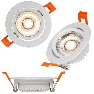 RSL 110 Recessed Spot white swivel