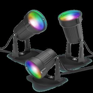 Outdoor Spot Light Colour 3-pack