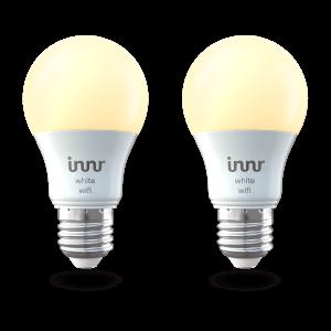 WiFi Bulb white E27 2-pack