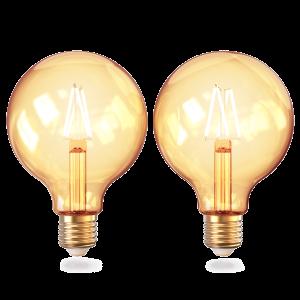 Wifi Globe Filament bulbs 2-pack