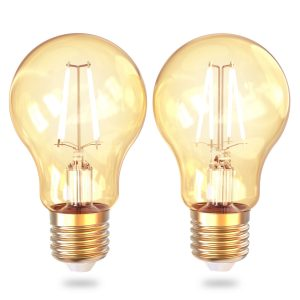 Smart Filament WiFi bulb Vintage 2-pack